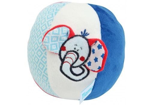 TIAMO - Měkký míč Ollie s chrastítkem