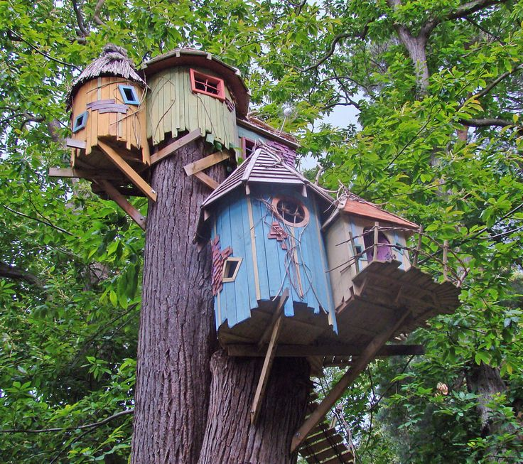 Love this treehouse - when can I move in and turn this into my place to write?