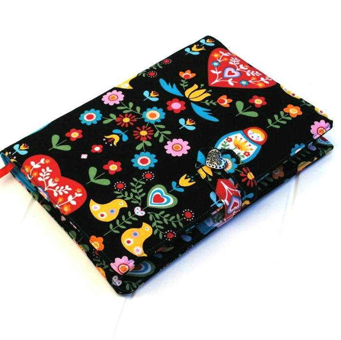 Russian gypsy print journal/notebook cover