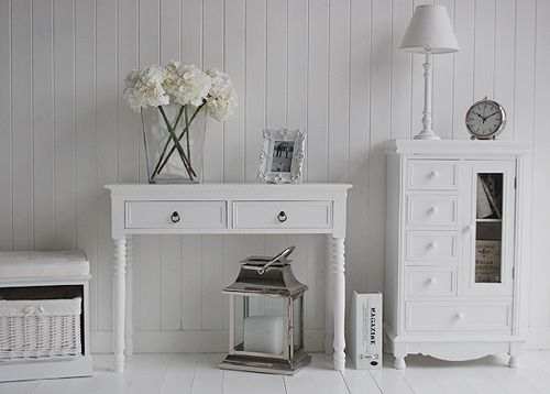 View our white hall furniture