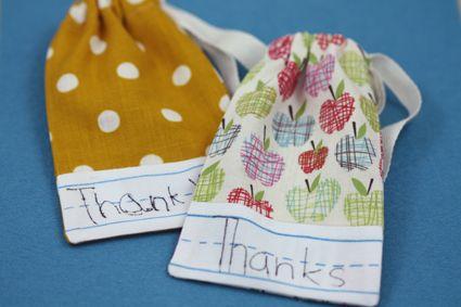 teacher appreciation: Gift Bags, Teacher Gifts, Sewing Projects, Teacherappreciation, Crafty, Gift Ideas, Teacher Appreciation Gifts, Tutorial, Teachers Gifts