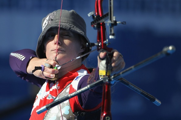 Naomi Folkard Photo - Archery World Cup Grand Final - Day One