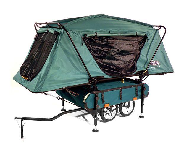 A Pop-up Camper for Your Bike