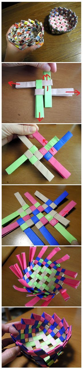 How to make Paper Basket