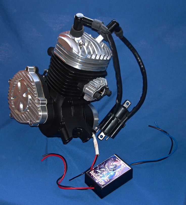 Upgrade Your Kit To A V Twin High Compression Hemi Spherical Head Dual Fire Ignition System Gas Powered Bicycle Powered Bicycle Bicycle Engine