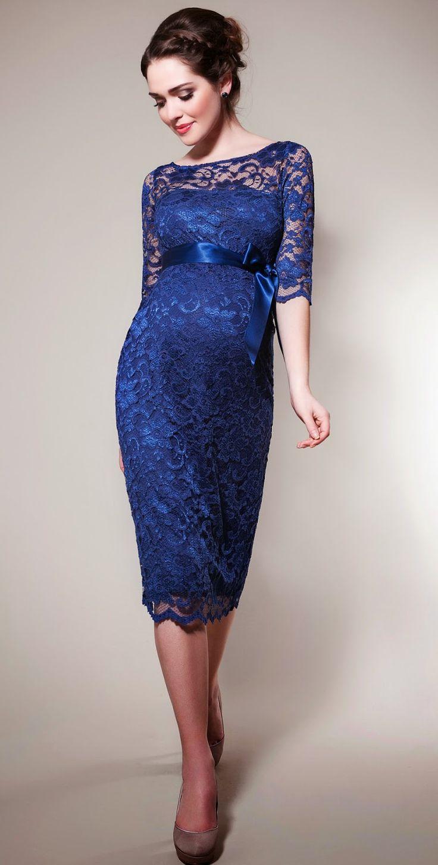 Alternativas de vestidos de fiesta para embarazadas