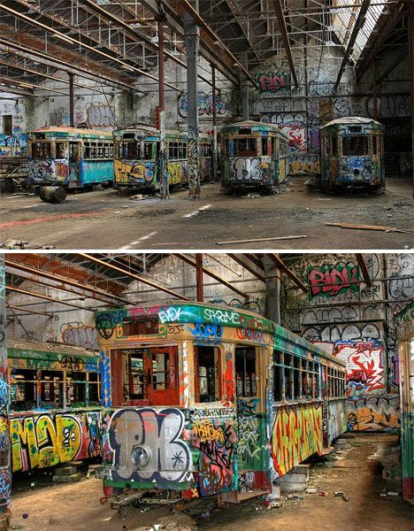 Decay Down Under: 7 Abandoned Wonders of Australia | Rozelle Tram Depot, Glebe, New South Wales