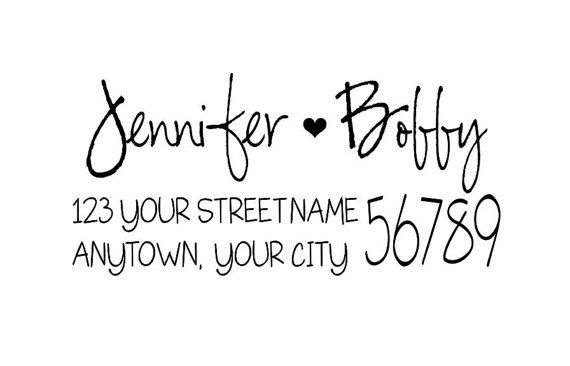 Personalized Self Inking Address Stamp - Return address stamp R175