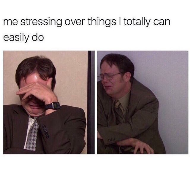 This is just such a true statement. When I take a step back and look and my stress, I realize I make the stress more then it actually is.