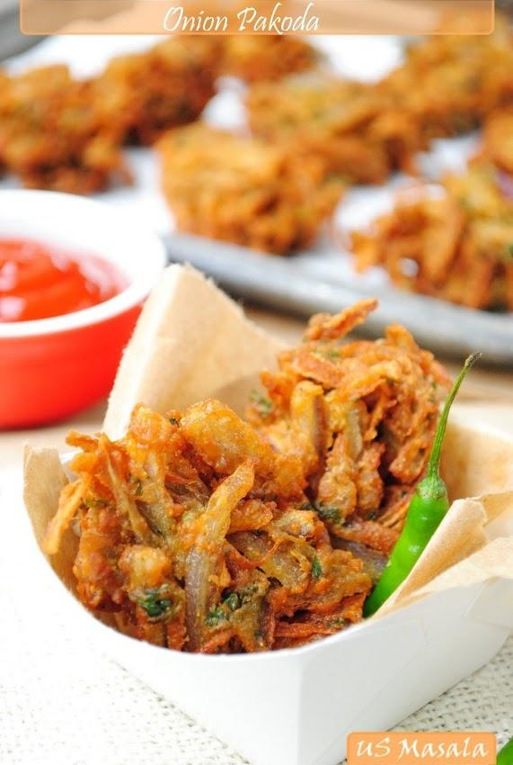US Masala: Onion Pakora/Bhajji