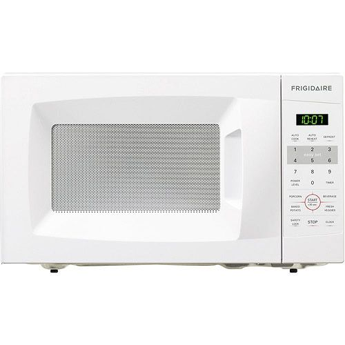 Frigidaire 0.7 Cu Ft 700W Countertop Microwave Oven, White Bargain