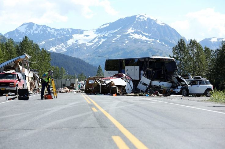 Clearing the Seward Highway of debris from a deadly collision Friday took nearly 10 hours in part because special equipment, including a forklift and a heavy commercial tow truck, had to be brought to the scene, Alaska State Troopers said in an online dispatch Tuesday.