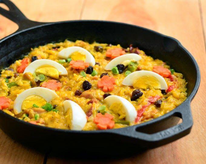 Makanan Filipina - Bringhe