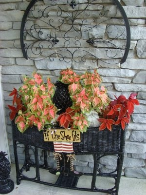 Front porch ~ Fall Decorating~