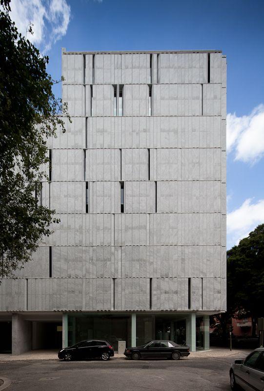 Lisbon Stone Block , Lisboa - Alberto de Souza Oliveira - João Morgado - Architecture Photography