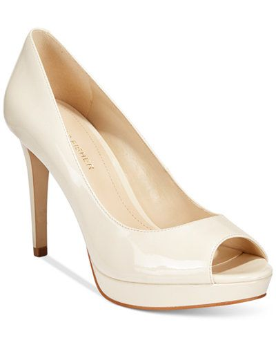 Marc Fisher Byanka Peep Toe Pump