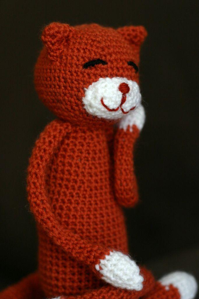 Ravelry: Amineko Crocheted Cat pattern by Nekoyama