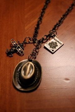 Indiana Jones Inspired Necklace by kristapastecchi on Etsy, $20.00