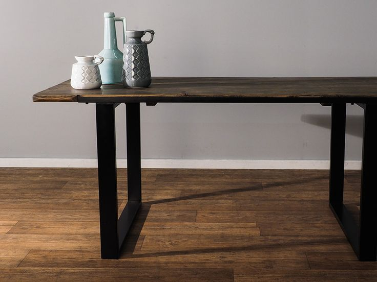 Looking to give your space a New York loft makeover? The Chatham table - with its solid iron base and table top crafted from bleached, aged pine - is just the ticket. Limited stock available. Order yours online TODAY. https://www.earlysettler.com.au/made-for-today