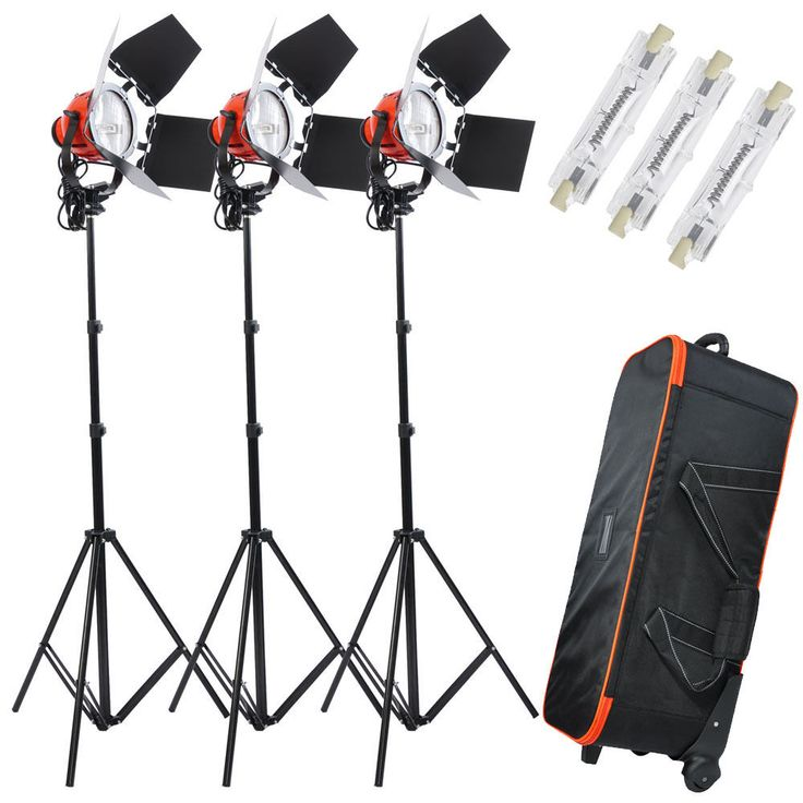 3x800W Dimmable Photo Studio Continuous RedHead Light Video Lighting Bulb 2400W | Cameras & Photo, Lighting & Studio, Continuous Lighting | eBay!
