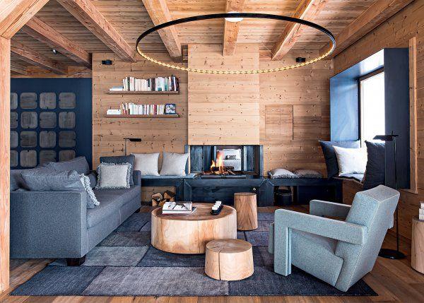 Les 25 meilleures id es de la cat gorie chalet moderne sur pinterest d cor - Decoration interieur chalet moderne ...