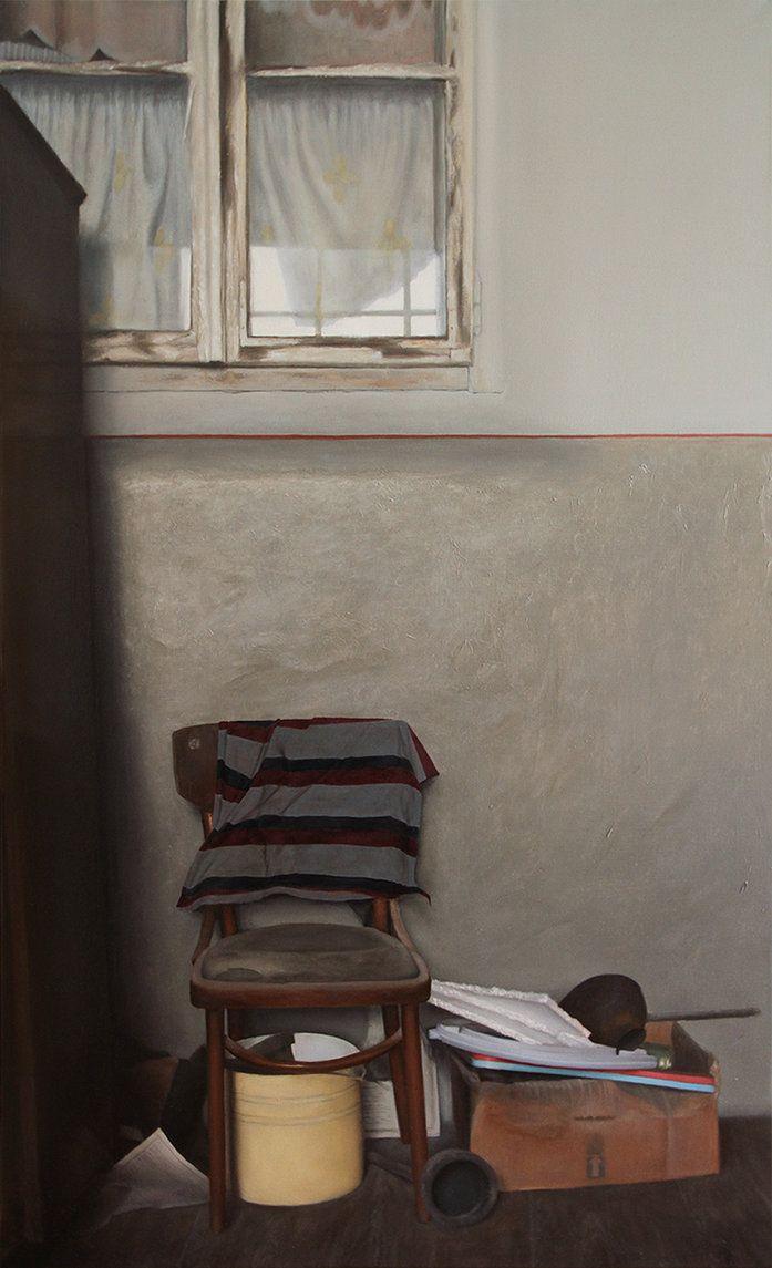 Michal Ozibko From Ukraine III. oil on canvas 230x140cm 2016