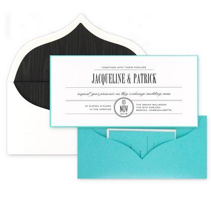 #Calypso #Pocket #WeddingInvitation From #Checkerboard: Call Beth Today To  Set Up · Invitation IdeasWedding InvitationsPockets