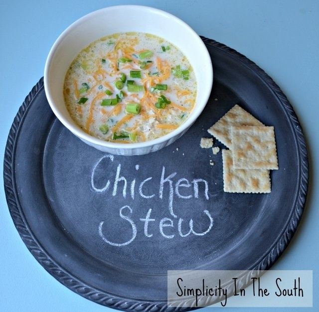 Simple Southern Chicken Stew Recipe from Simplicity In The South