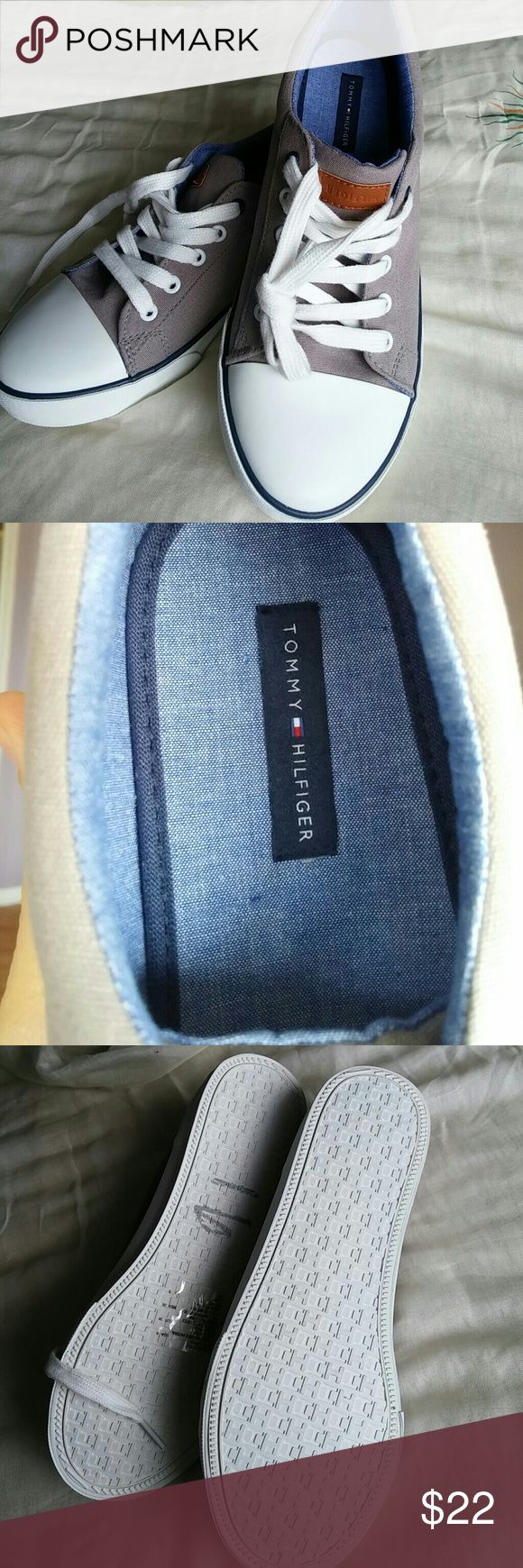 Boys new sneakers Never used. Perfect condition Tommy Hilfiger Shoes Sneakers