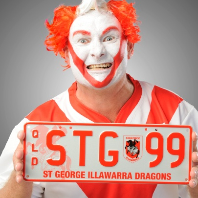 The Plate for Queensland St George Dragons supporters. #NRL #redv