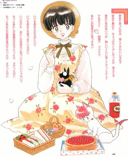Rumiko Takahashi, Ranma 1-2, Ryoga Hibiki, Shampoo, Akane Tendo