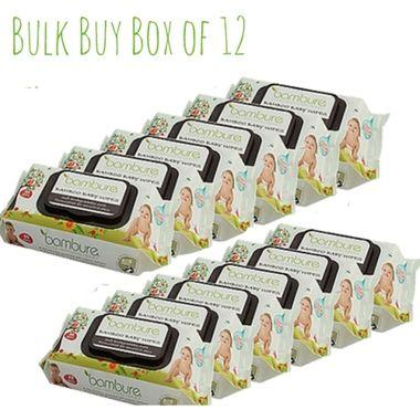 Bulk Buy and Save! on the Bambure bamboo baby wipes $76.40 http://www.hellocharlie.com.au/bambure-previously-bambeco-bamboo-baby-wipes-bulk-buy-box-of-12/