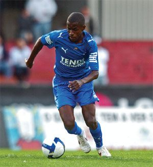 Ramires in a match by Cruzeiro, 2008