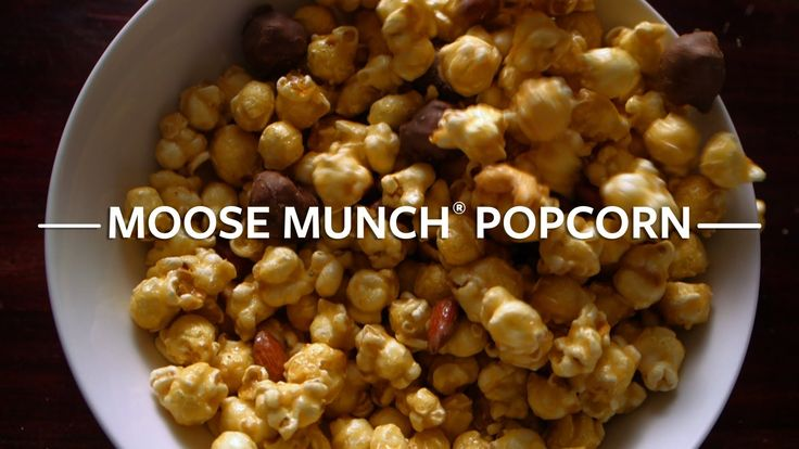 Our Moose Munch® Popcorn combines rich, buttery caramel corn with a ...