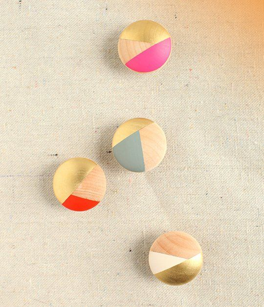 Amp Up Your Kitchen Cabinets: Make Your Own Multi Colored Cabinet Knobs!