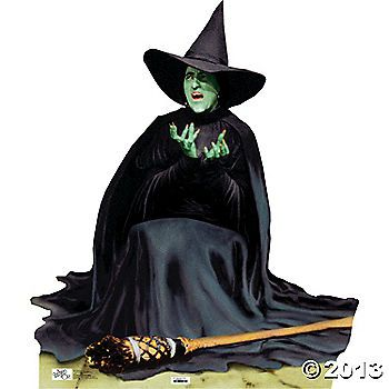 Wicked Witch Melting - Wizard Of Oz Stand-Up $35.00
