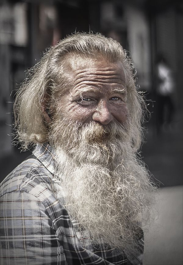 Gritty Personal Portraits of Homeless People in LA - Michael Pharaoh
