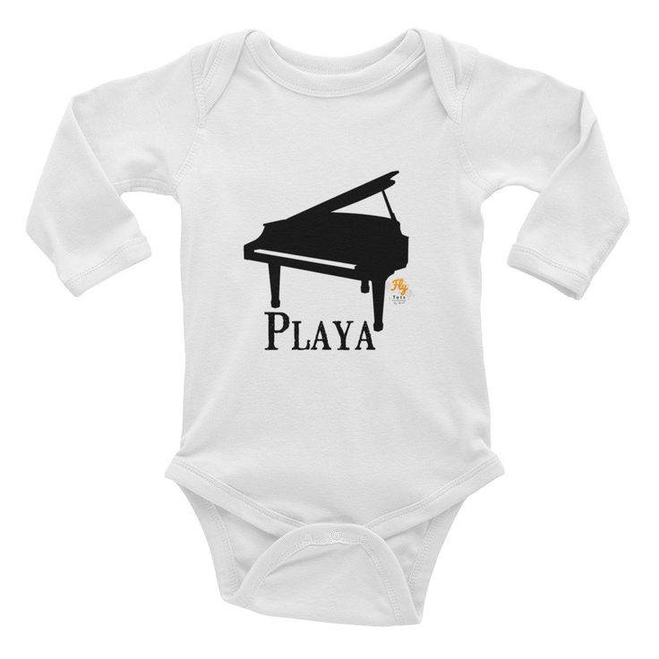 Playa Fly Tots Infant Long Sleeve Bodysuit