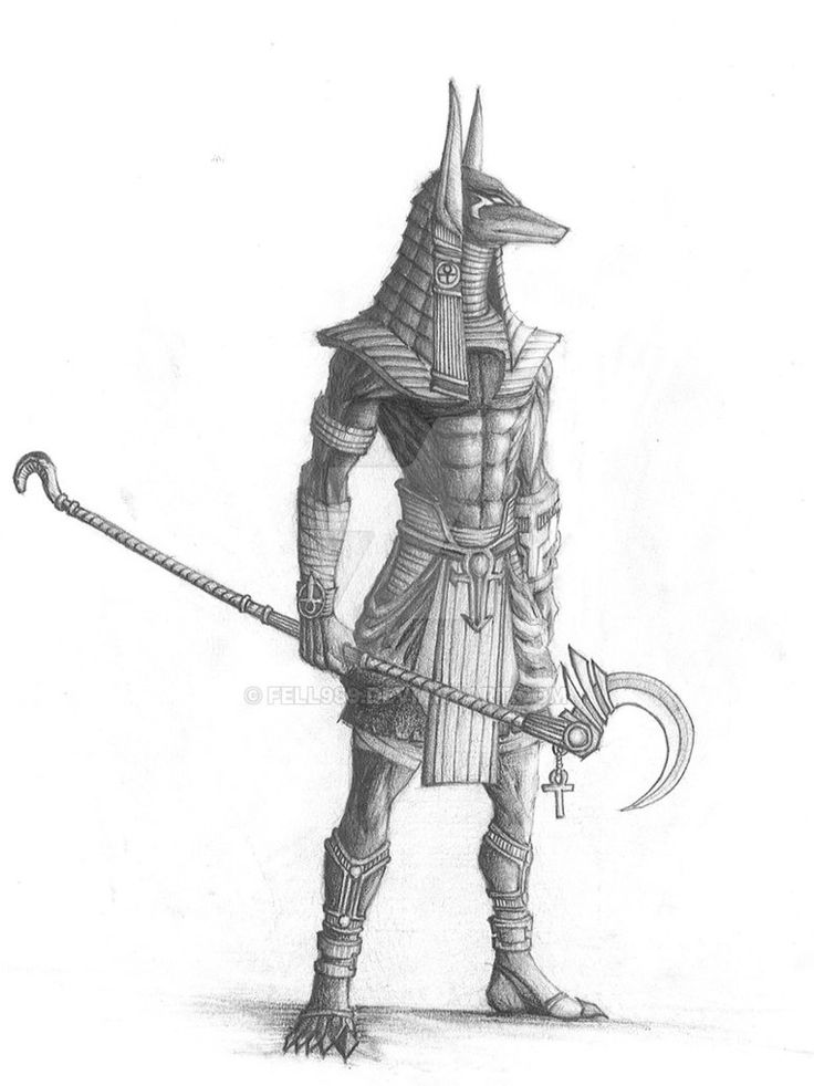 This is a pen and ink drawing of one of the costumes from the movie Stargate. It's not my favorite movie (by far) but the costuming was impressive.