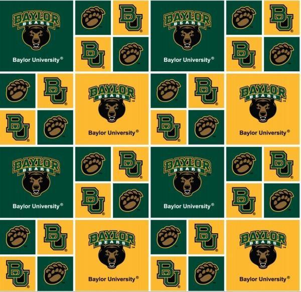 Washington University NCAA Block Cotton Fabric 45/'/' Wide Sold by The Yard