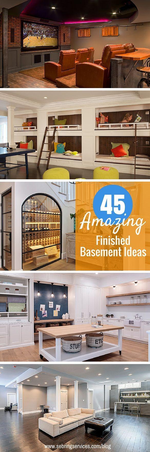 Cool Basement Ideas
