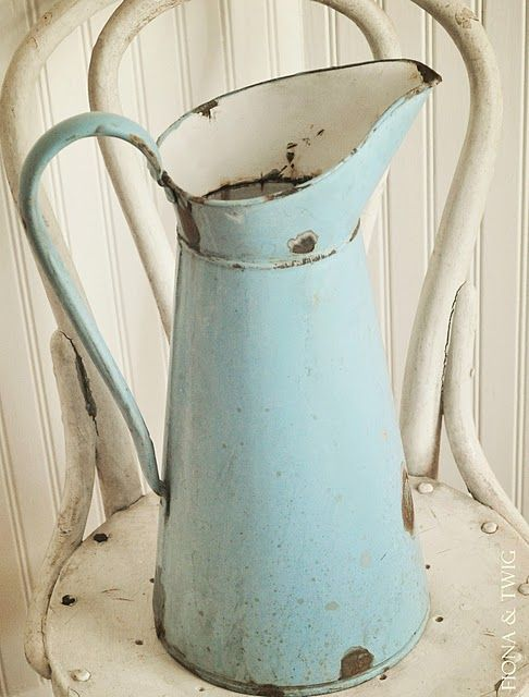 Vintage jug is great for alot of things! Be Creative