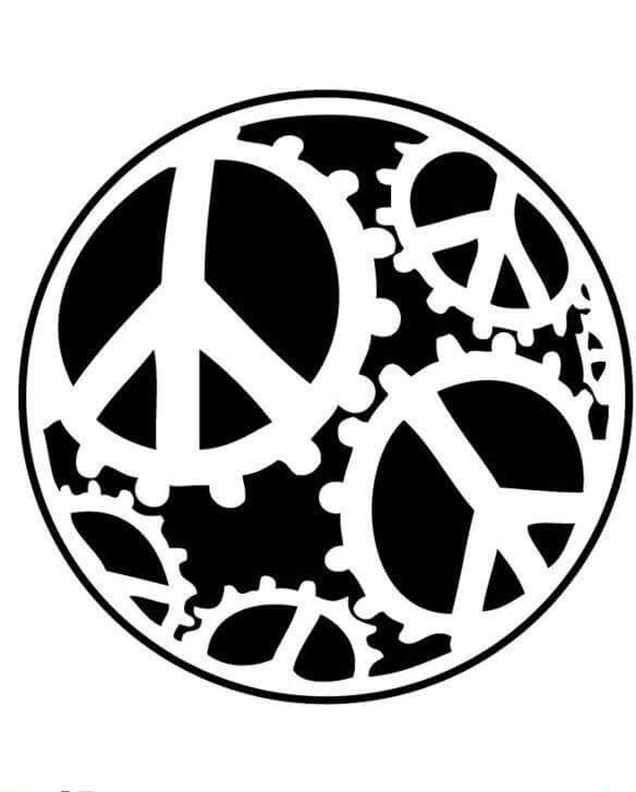 global peace sign coloring page free printable peace sign coloring pages