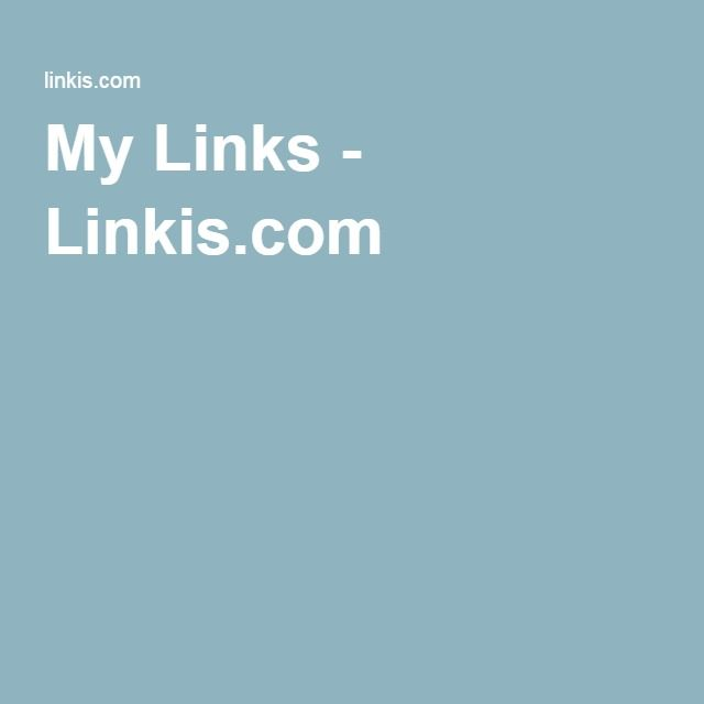 My Links - Linkis.com