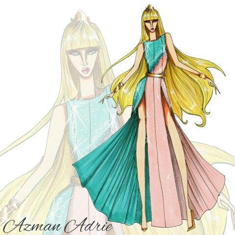 Disney Princess, Aurora by Azman Adrie. #azmanadrie #Instagram #official_azmanadrie