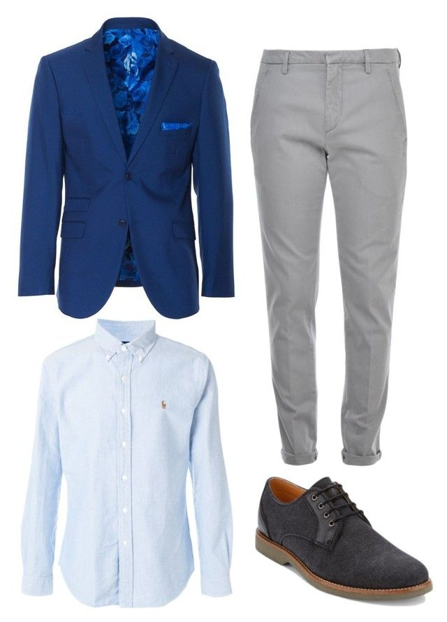 """""""Sin título #13"""" by angelaguirrem on Polyvore featuring Paisley & Gray, Polo Ralph Lauren, Dondup, G.H. Bass & Co., men's fashion y menswear"""