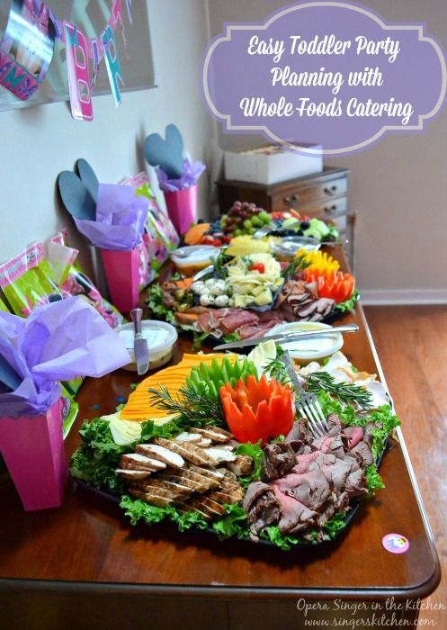 Easy Toddler Party Planning with Whole Foods Catering