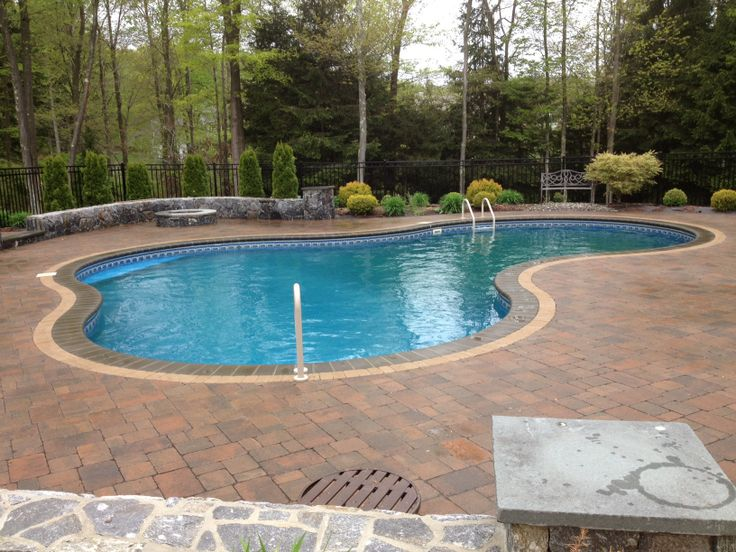 37 besten in ground pools bilder auf pinterest im boden for Pool im boden