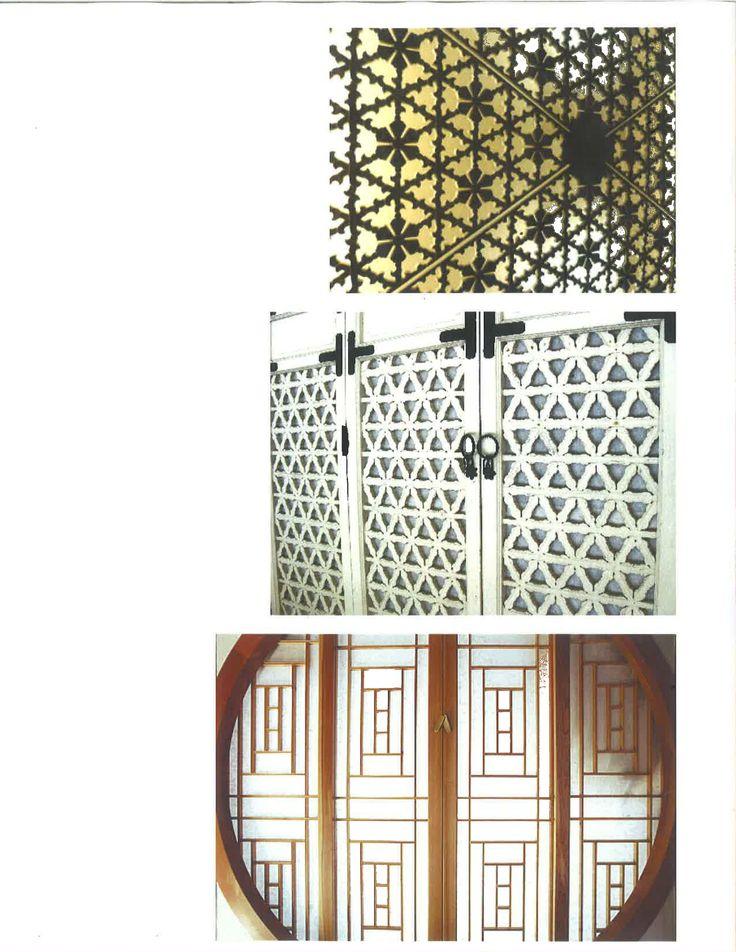 Korean Screen Patterns