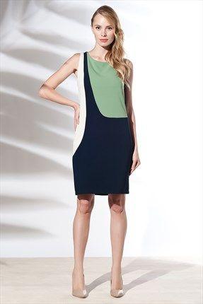 Zanzi - Yeşil Harem Elbise 4569  ile Trendyol da